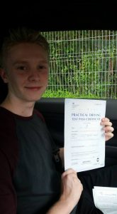 Pass test 1st time Wakefield